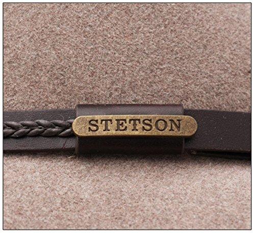 Stetson - Chapeau fedora feutre femme Inglewood Furfelt