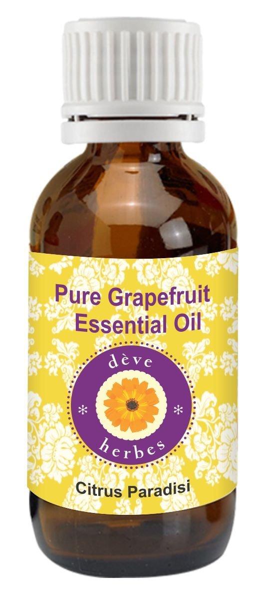 Deve Herbes Pure Grapefruit Essential Oil 15ml (Citrus paradisi) 100% Natural Therapeutic Grade