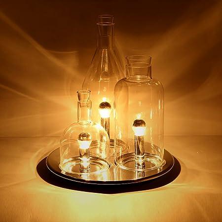 Jia you jia jiayoujia modern triple light creative wine bottle table jia you jia jiayoujia modern triple light creative wine bottle table lamp round tray base aloadofball Choice Image