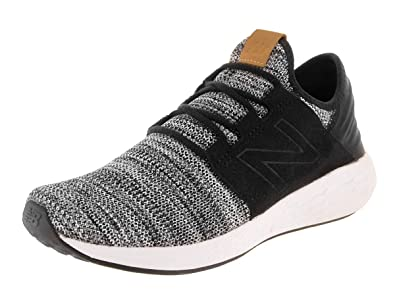 6940665404c4b New Balance Fresh Foam Cruz v2 Knit Running Shoe - Men's White/Black, ...
