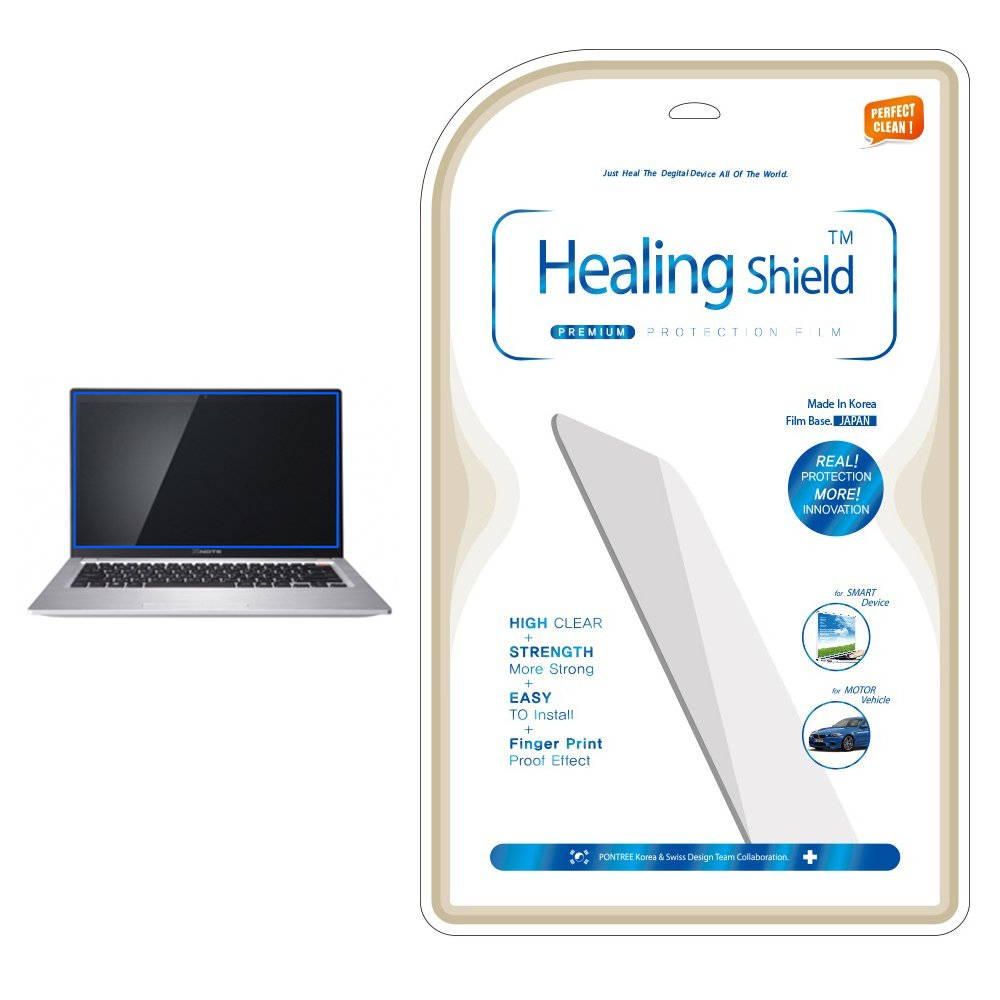 Healingshield AFP OlephobicプレミアムLCDスクリーンプロテクターfor LG z460   B00IW2FD9G