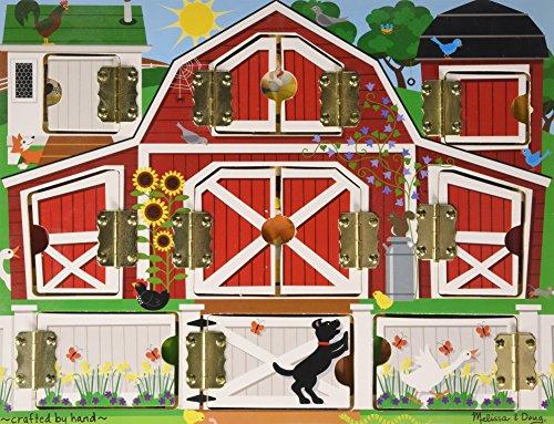 Melissa & Doug Magnetic Farm Hide & Seek Board (Melissa & Doug Magnetic Hide And Seek Board)
