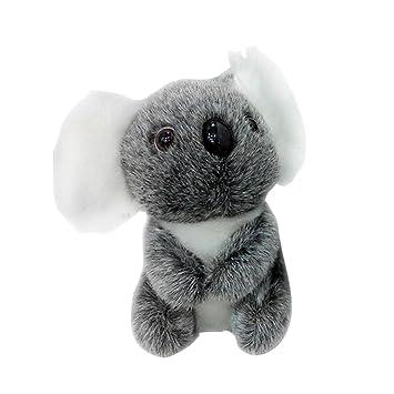 ForuMall Lindo Gris Coala Felpa de Peluche Koala Juguetes de Bebe Muñecas(13cm)