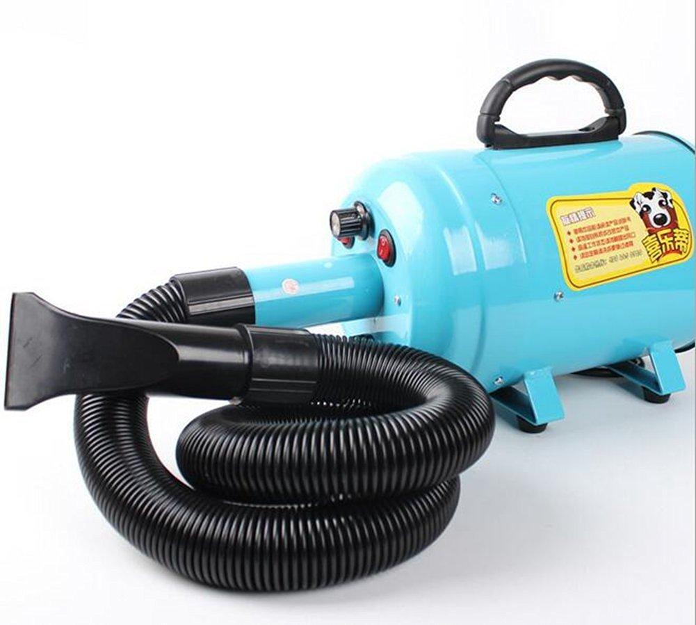 ELEOPTION Pet Dryer Dog Hair Dryer 220V 2800W Pet Variable Speed Dog Dryer (Blue)