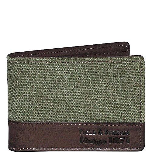 Field & Stream Vintage Gear Front Pocket Slimfold - Olive