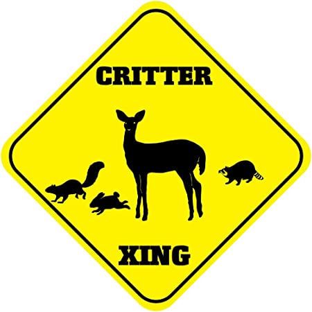 Wild Turkey Crossing Funny Metal Aluminum Novelty Sign