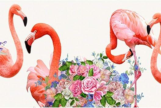 Puzzle House- Diseño Flamingo Art Painting, Rompecabezas de Basswood, Cut & Fit, 500 ~ 5000 Piezas en Caja Ilustración Puzzles de Madera Juguetes Arte para Adultos -0416: Amazon.es: Juguetes y juegos