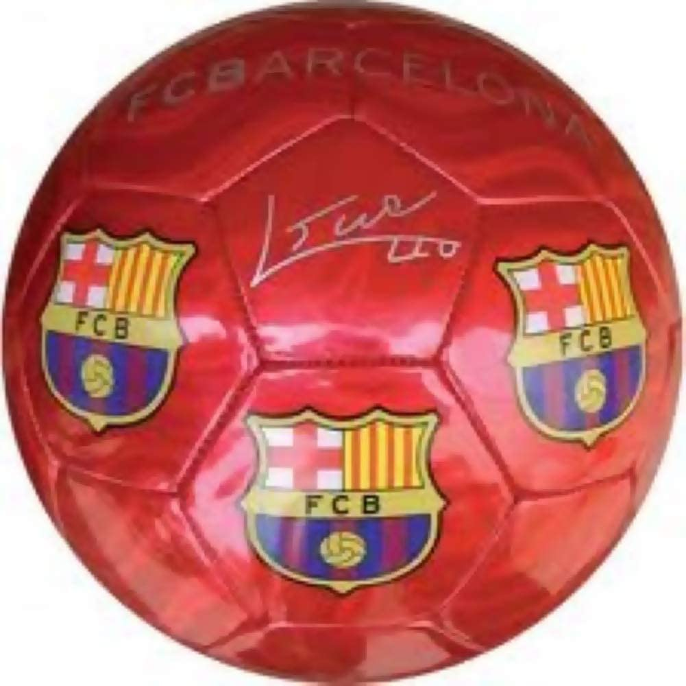 Kid Grand FC Barcelona - Balón de fútbol, Color Rojo Brillante ...