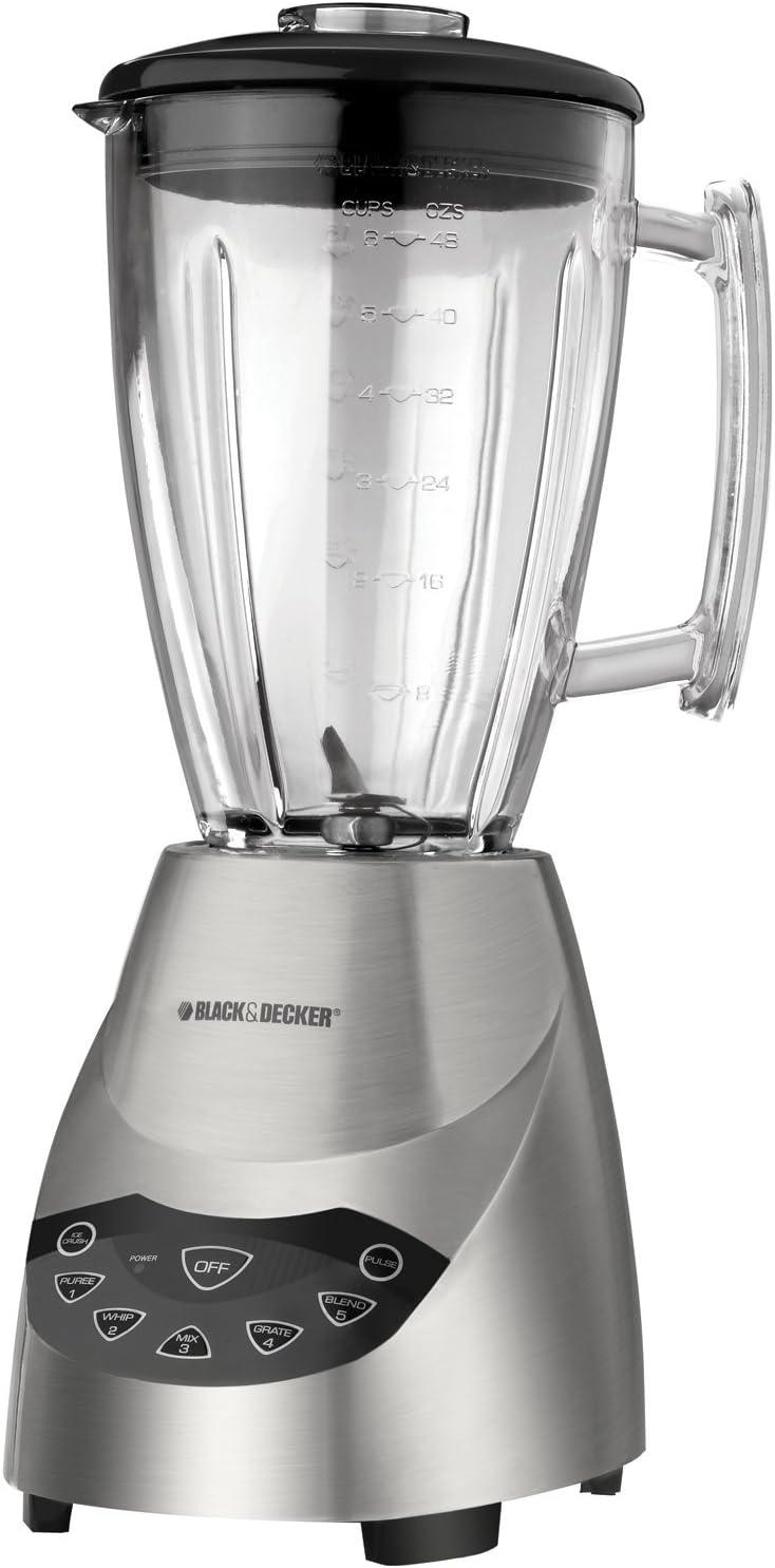 Black & Decker BLT5650 ProBlend Die-Cast Blender with 48-Ounce Glass Jar