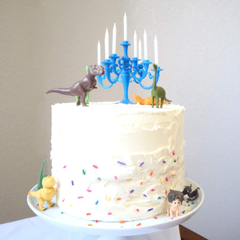 Miraculous Amazon Com Luxury Candelabra Birthday Candles Special Cake Personalised Birthday Cards Veneteletsinfo