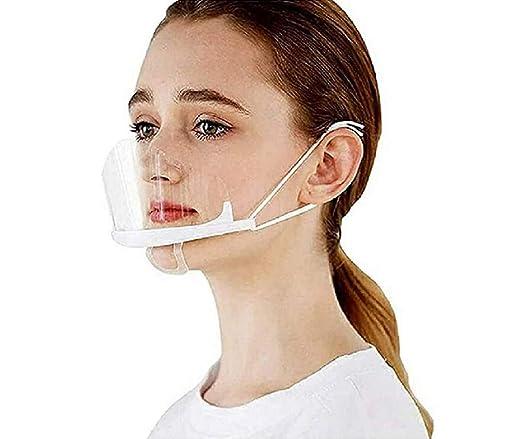 10 PC, A Essen Hygiene Spezielle Anti-Saliva Gesichtsschutzschild 10 St/ück Safety Face Shield Kunststoff Visier Gesichtsschutz Anti-Fog Anti-/Öl Splash Transparent Schutzvisier