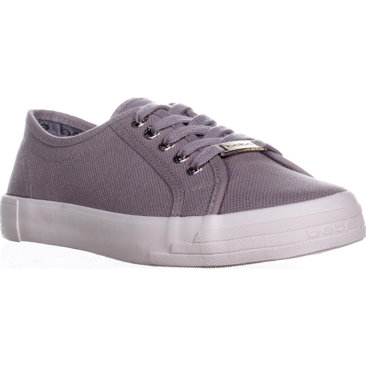 bebe Women's Dane-l Fashion Sneaker B07CSL6DW8 6 B(M) US|Grey