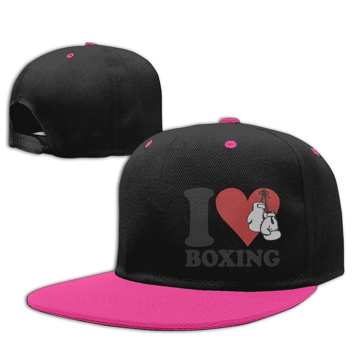 I Love Boxing Trucker Dad-Hat Adjustable Outdoors
