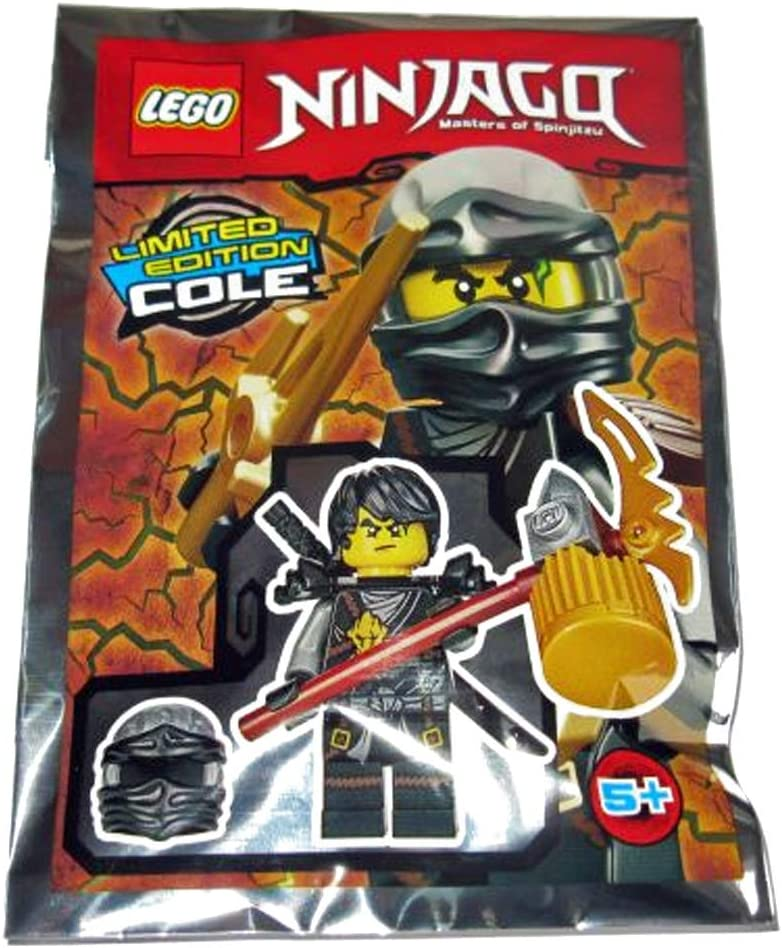 LEGO Ninjago - Limited Edition - Masters of Spinjitzu - Cole - foil Pack #3