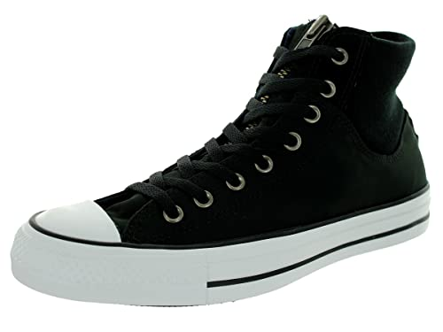 b0fbc0f75079 Converse Mens Ct Ma-1 Zip Tex Zip And Lace-Up High Tops  Amazon.co ...