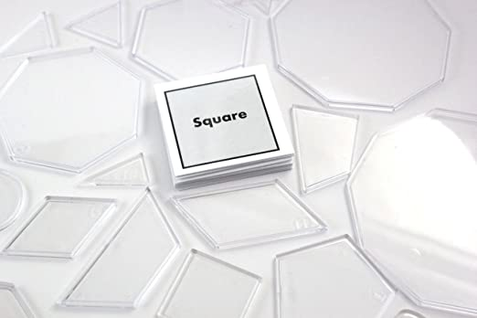 Amazon.com: 20 Geometric Shape Match with Matching Cards ...