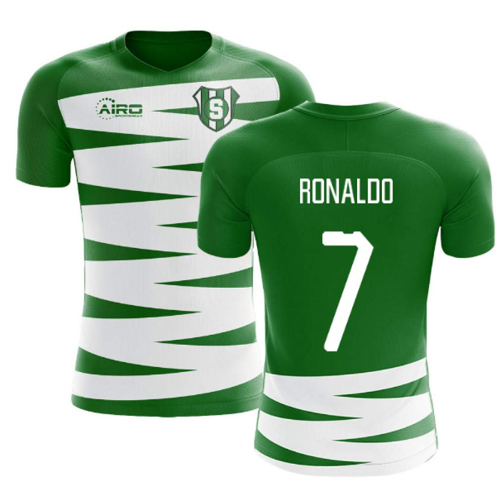 brand new 1889b e993a Amazon.com : Airosportswear 2019-2020 Sporting Lisbon Home ...