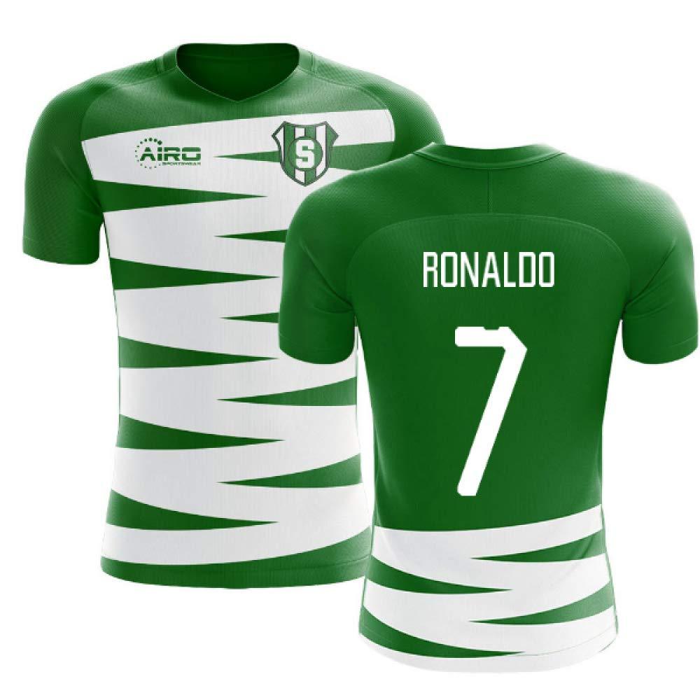 brand new f65df a1b33 Amazon.com : Airosportswear 2019-2020 Sporting Lisbon Home ...