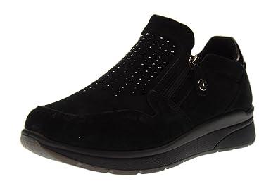 ENVAL SOFT Chaussures femmes baskets basses sans lacets 89491 00 taille 37  BLACK 8bc285066b2