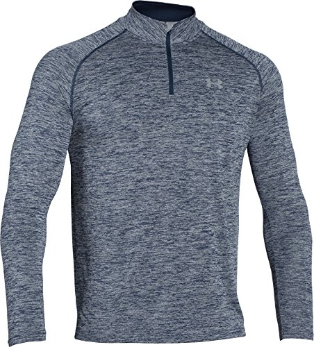Under Armour Men's Tech 1/4 Zip, Academy/Steel, X-Large (Clothing Mens)