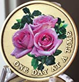 Pink Rose One Day at A Time Color Medallion