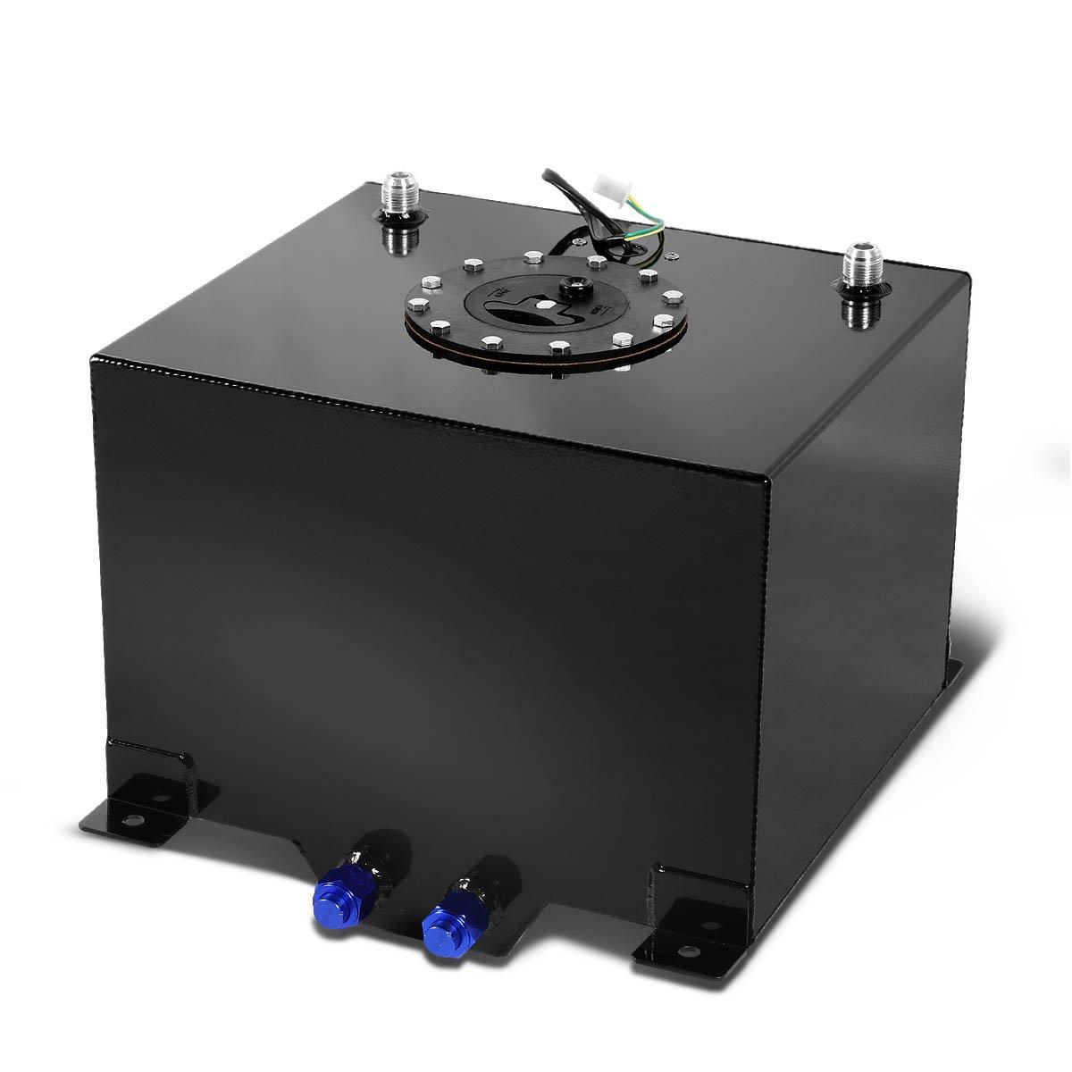 DNAMotoring ALU-FT-T3-BK Aluminum 8-Gallon Fuel Cell Gas Tank DNA Motoring