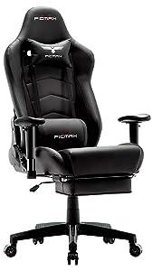Ficmax Ergonomic Gaming Chair with Massage