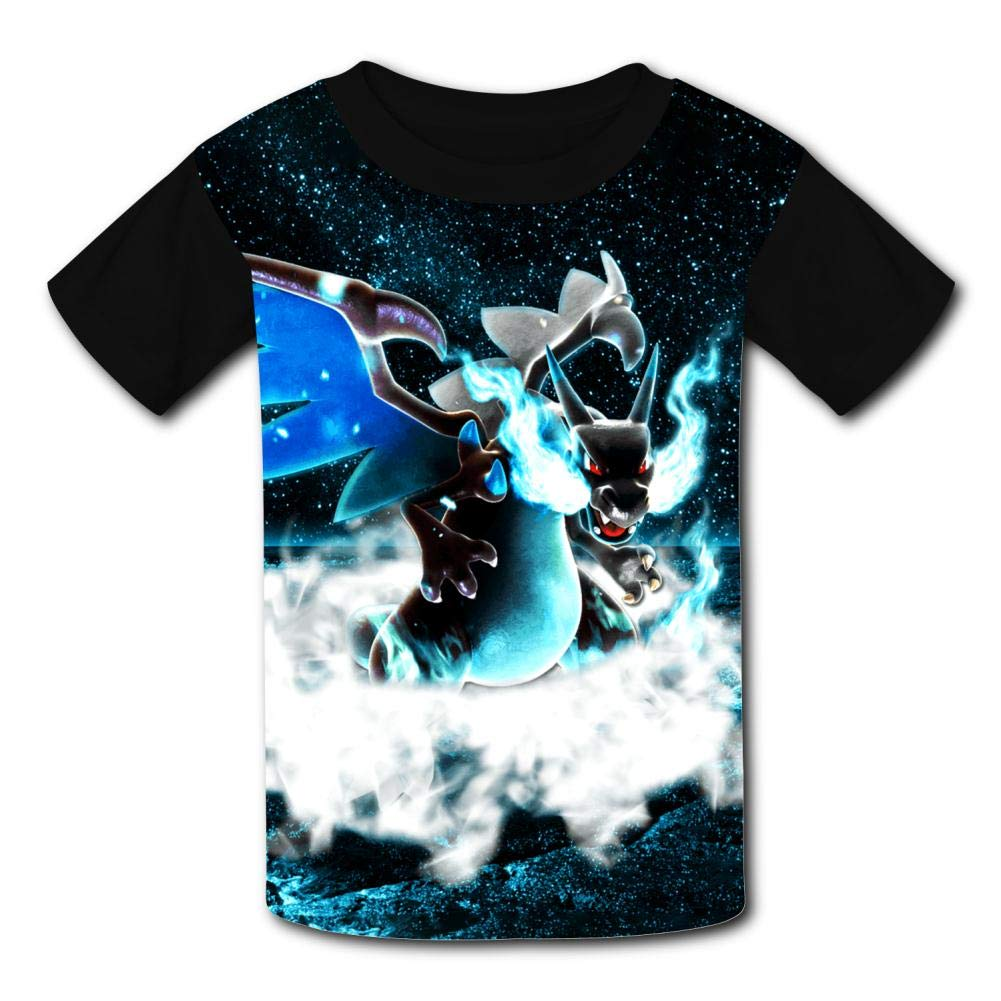MOEYBOR Lu-caRio Dragon T-Shirts,Fashion Summer Tee for Kids//Teen//Boys//Girls