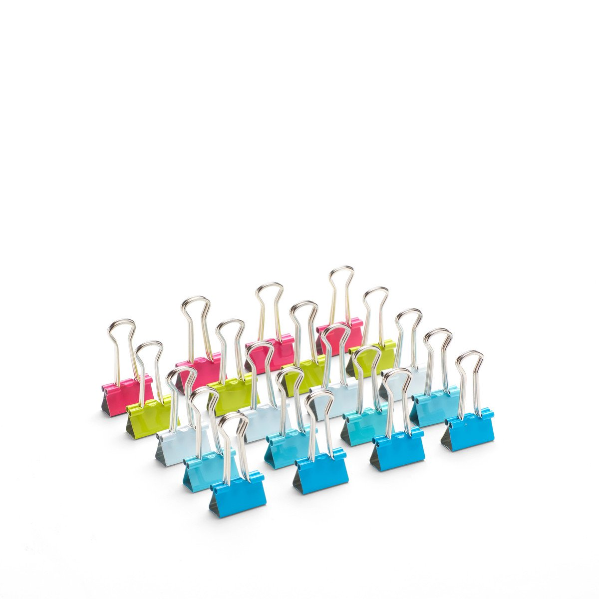 Poppin Bulk Pack of Assorted Small Binder Clips (960 count)