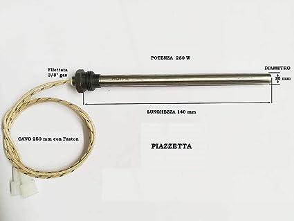 Mochila de encendido resistencia D. 10 X 140 280 W De Tornillo 3/8