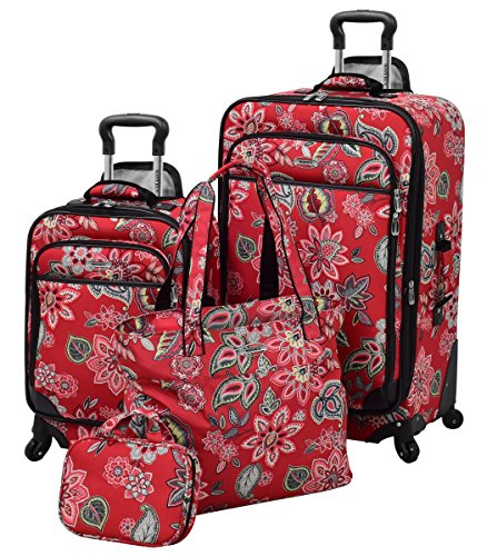 Waverly Boutique 4 Piece Set, Cherry Floral by Waverly
