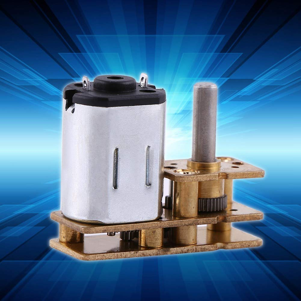 DC Motor 1pc Metal DC 6V 100RPM Micro Electric Geared Motor Speed Reduction Geared Box