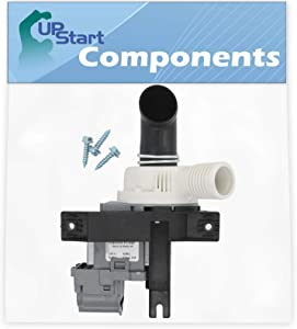 W10536347 Washer Drain Pump Replacement for Whirlpool WTW6200VW0 Washing Machine - Compatible with W10217134 Water Pump - UpStart Components Brand