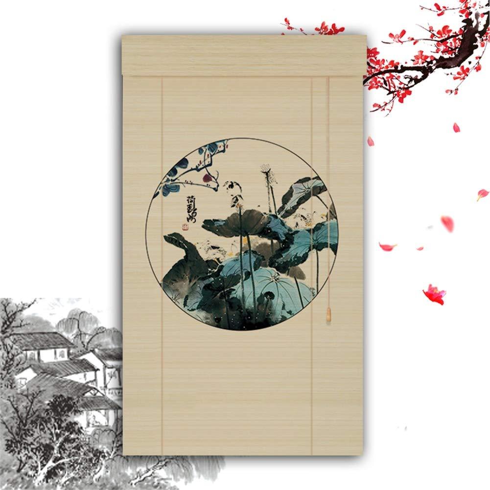 HAIPENG-Persianas Estores De Bambú Enrollable Ventanas ...