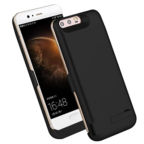 Huawei P10 Plus Batería Funda CaseFirst 6500mAh Carcasa Power Bank [Ultra fino] Funda battery charger [antigolpes] [antideslizante] batería Case ...