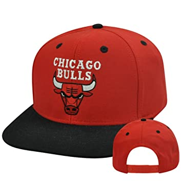 adidas Chicago Bulls NBA Dos Tonos Flat Bill Gorra Ajustable ...