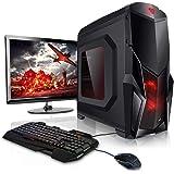 """Megaport PC Gaming Completo AMD A8-9600 4 x 3.40 GHz • Schermo LED 22"""" • Tastiera/Mouse • Windows 10 • 1TB HDD • 8GB DDR4 2400 • pc da gaming pc fisso pc desktop pc gaming completo pc completo fisso"""