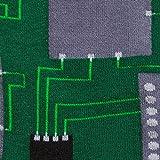 Sock It To Me Circuit Board Mens Crew Socks