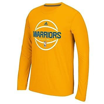 Dassler Climalite Long Sleeve T-Shirt Youth Adidas NBA Golden State Warriors