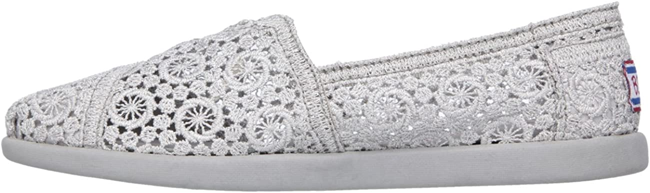 Skechers Womens Bobs World Sparklerz Flat