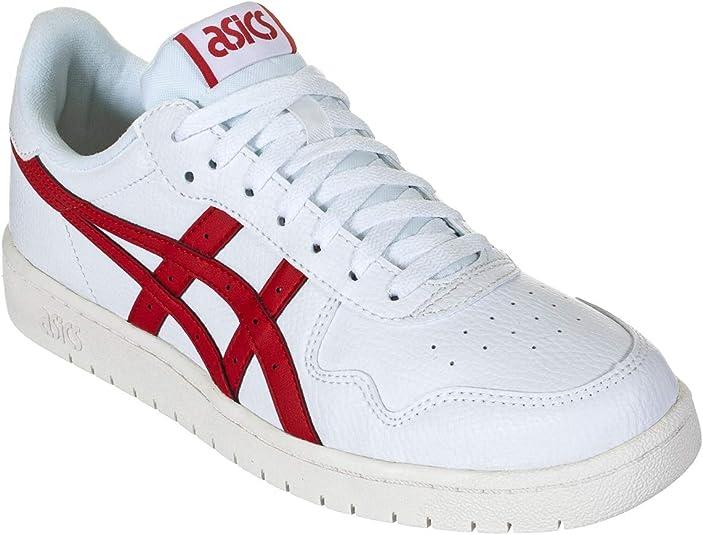ASICS Herren Sneaker Japan S Sneaker Weiss Rot F100 1191A212