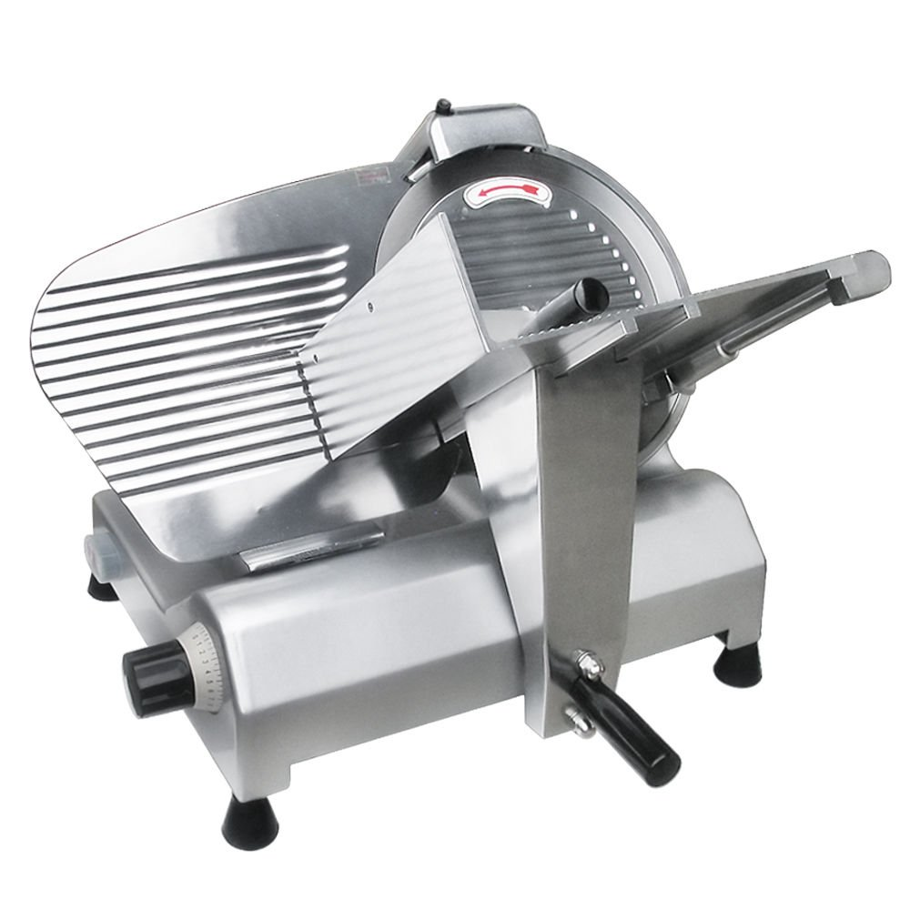 GHP Commercial 12'' Stainless Steel Blade Deli Meat Food Slicer 440RPM