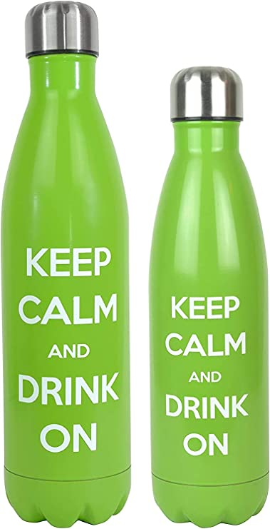 HANDLE BLUE SLOGAN GYM WATER DRINKING BOTTLE 700ml SPORTS DRINKS IN PLASTIC