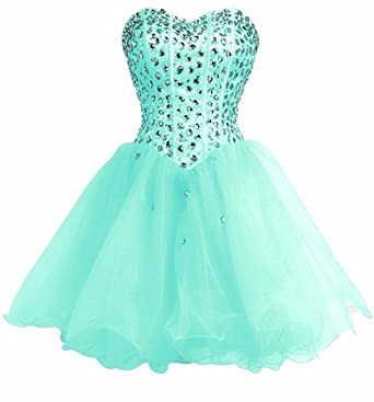 Annies Bridal Junior Formal Dresses for Homecoming Party Dress Short Blue US2