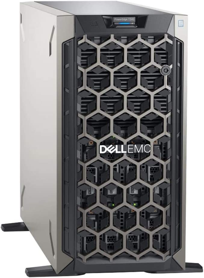 Dell PowerEdge T340 Bundle with Intel Xeon E-2136, 32GB DDR4, 8TB HDDs, RAID, Windows Server 2019
