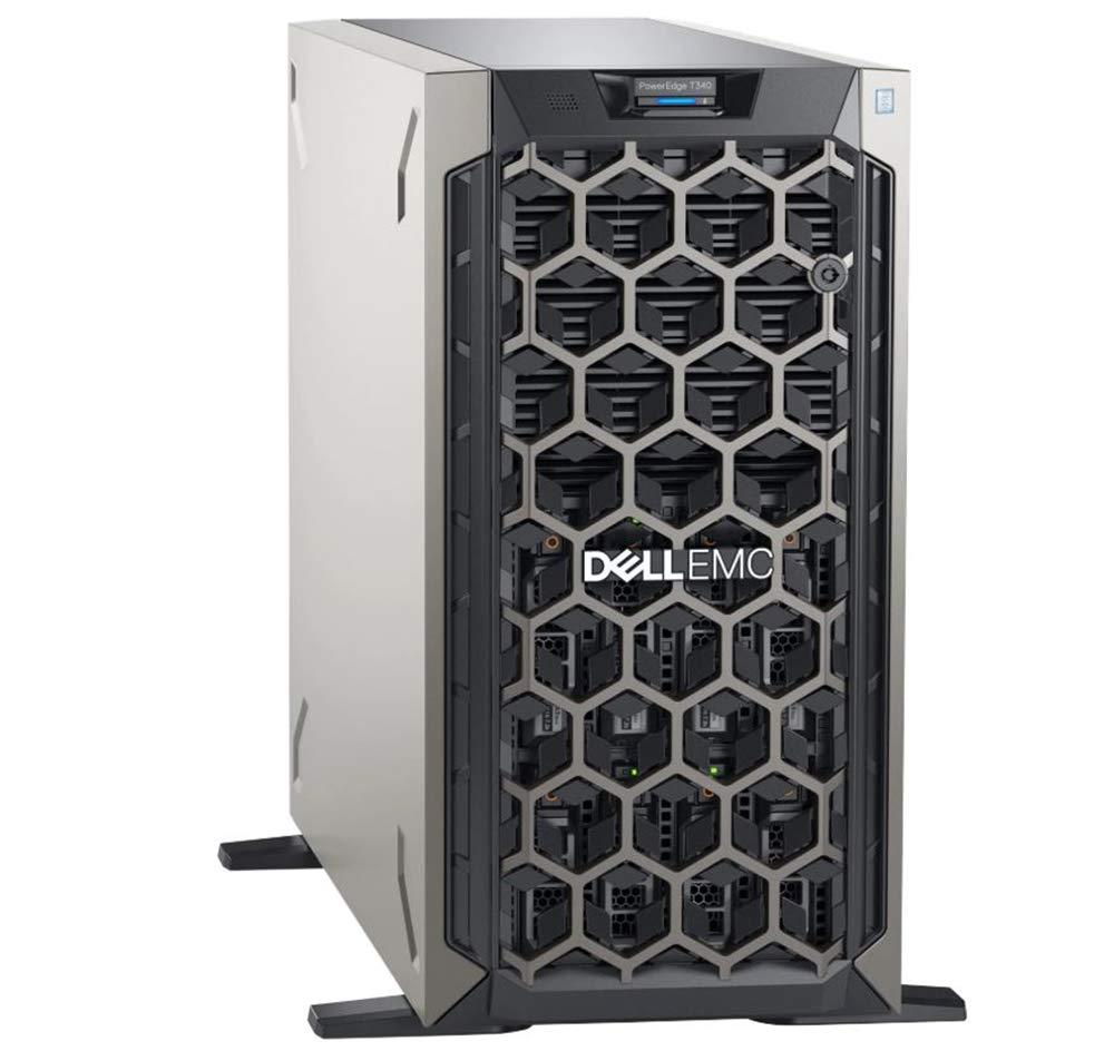 Dell PowerEdge T330 Tower Server, Windows 2016 STD OS, Intel Xeon E3-1230 v6 Quad-Core 3.4GHz 8MB, 32GB DDR4 RAM, 8TB Storage, RAID, Single PSU, 3 Year Warranty by Dell