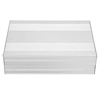 Caja de aluminio, caja de aluminio DIY Caja de enfriamiento de instrumentos PCB Caja de proyecto electrónico 54 × 145 × 200 mm para productos electrónicos, placa de circuito impreso: Amazon.es: Industria, empresas y ciencia