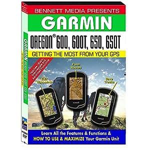 Bennett Training DVD f/Garmin Oregon® 600/600T/650/650T: Amazon