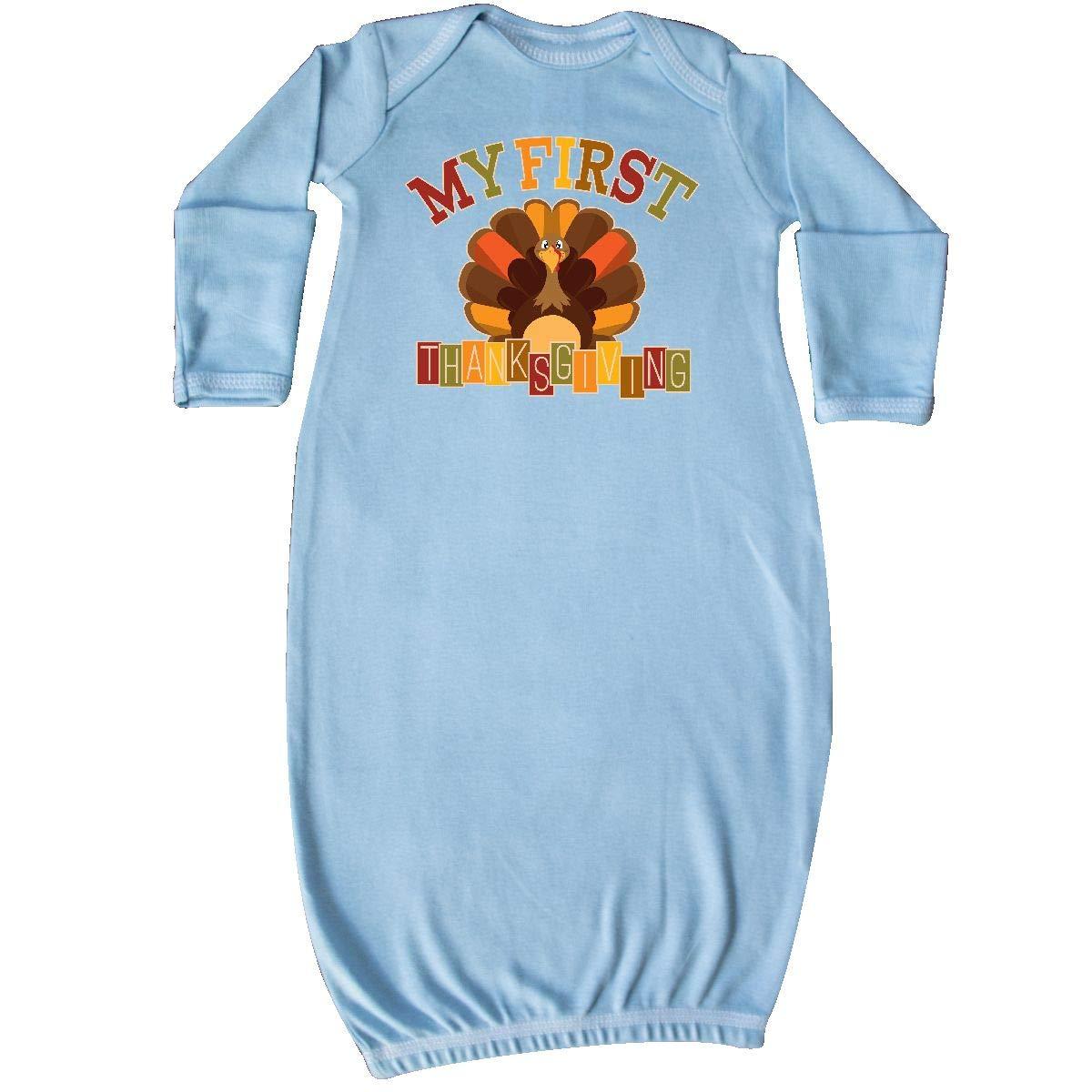 inktastic - First Thanksgiving Turkey Newborn Layette 14-208661-17-140-1418