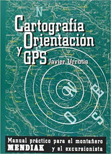 Libro GPS para senderismo / orientación